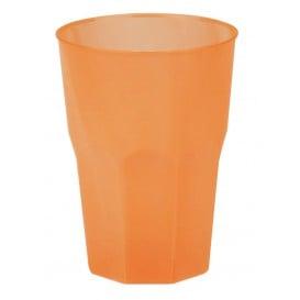 """Verre Plastique """"Frost"""" Orange PP 350ml (420 Unités)"""