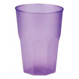 """Verre Plastique """"Frost"""" Violet PP 350ml (420 Unités)"""