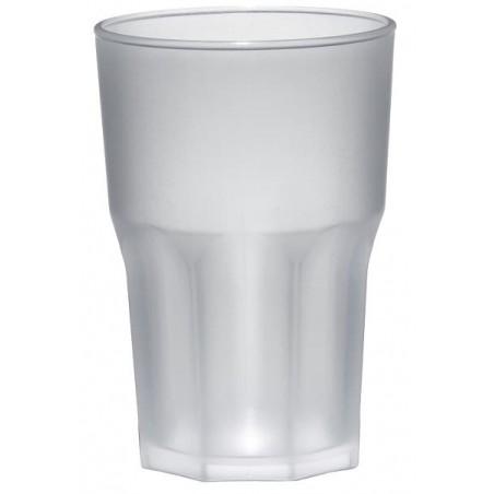 Verre Plastique Transparent PP Ø85mm 400ml (75 Utés)