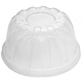 Couvercle Haut Plastique PS Transparent Ø11,7cm (50 Utés)