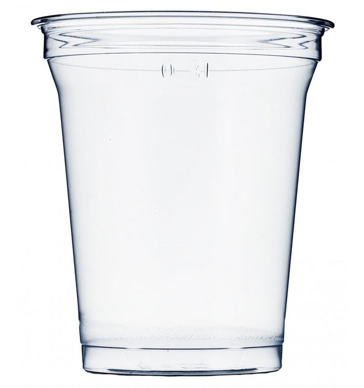 Gobelet Plastique Rigide Haut en PET 420 ml Ø9,3cm (50 Unités)
