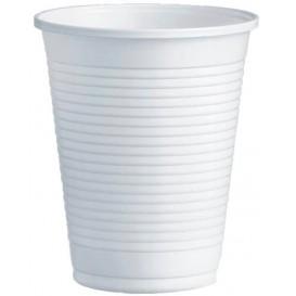 Gobelet Plastique PS Blanc 200ml Ø7,0cm (3000 Unités)