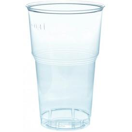 Gobelet Plastique PS Cristal 490ml Transparent Ø9,0cm (1.000 Unités)