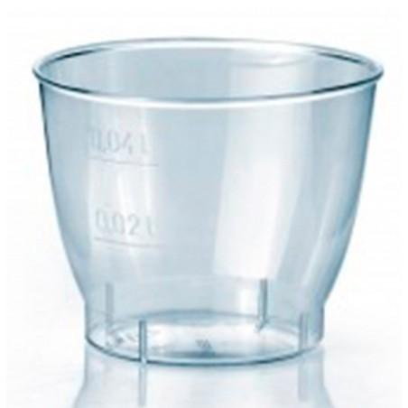 """Coupe Plastique Dur """"Cool Cup"""" 40ml (50 Unités)"""