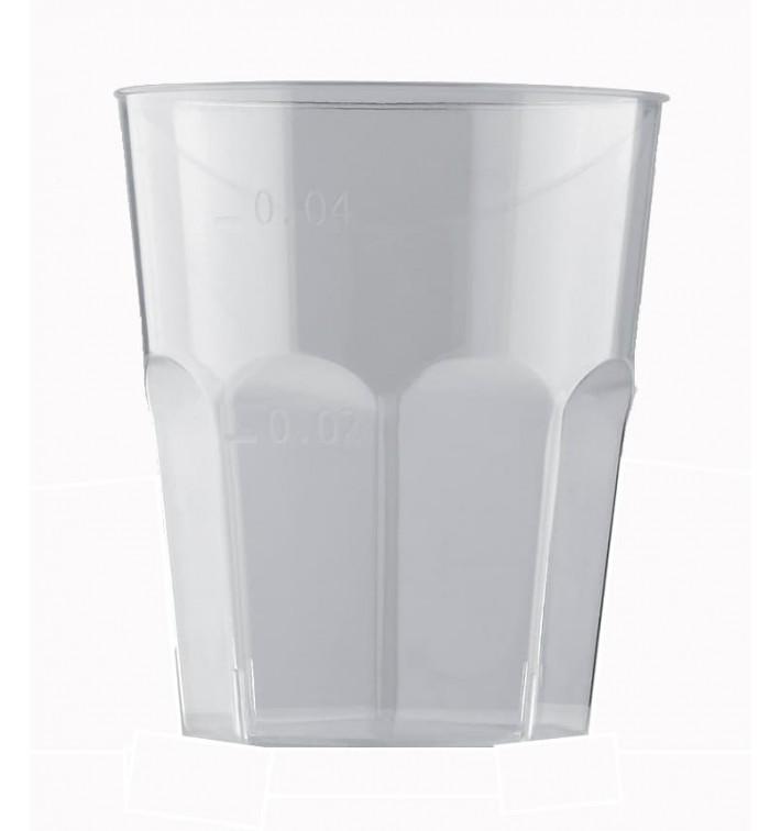 Verre Plastique à Shot Transp. PS Ø45mm 50ml (1000 Utés)