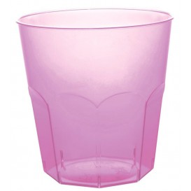Verre Plastique Violet Transp. PS Ø73mm 220ml (50 Utés)