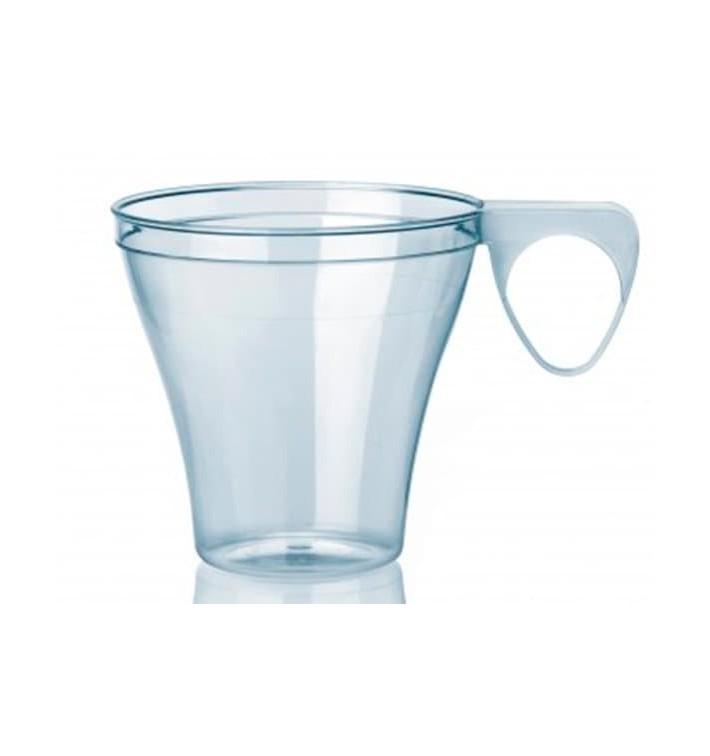 Tasse plastique Dur Transparent 80ml (1.200 Unités)