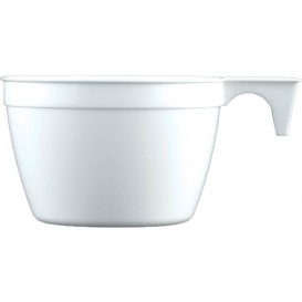 Tasse Plastique Cup Blanc PP 90ml (50 Unités)