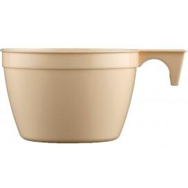 Tasse Plastique Cup Beige PP 90ml (50 Unités)