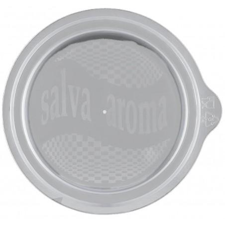 Couvercle Microwaveable pour tasse PP (50 Unités)