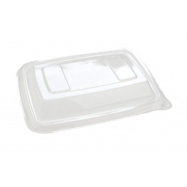 """Couvercle Plastique PET Barquette """"Vision"""" 165x230mm (300 Utés)"""
