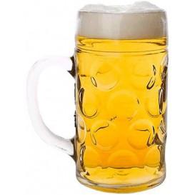 Pichet Réutilisable SAN pour Bière Ø105mm 1000ml (1 Uté)