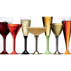 Coupe Plastique Vin Transparent 130ml (10 Utés)