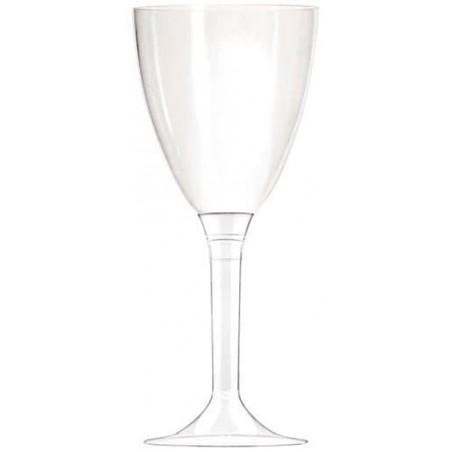 Coupe Plastique Vin Transparent 130ml (100 Utés)