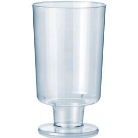 Verre à Pied en Plastique 150ml (12 Unités)