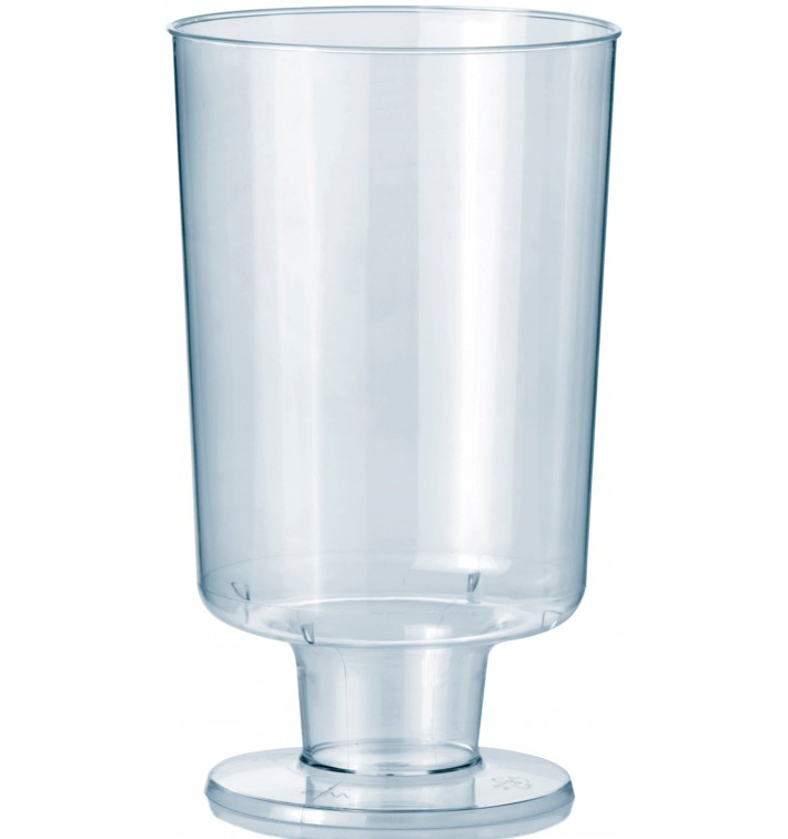 Verre à Pied en Plastique 150ml 1P (12 Utés)