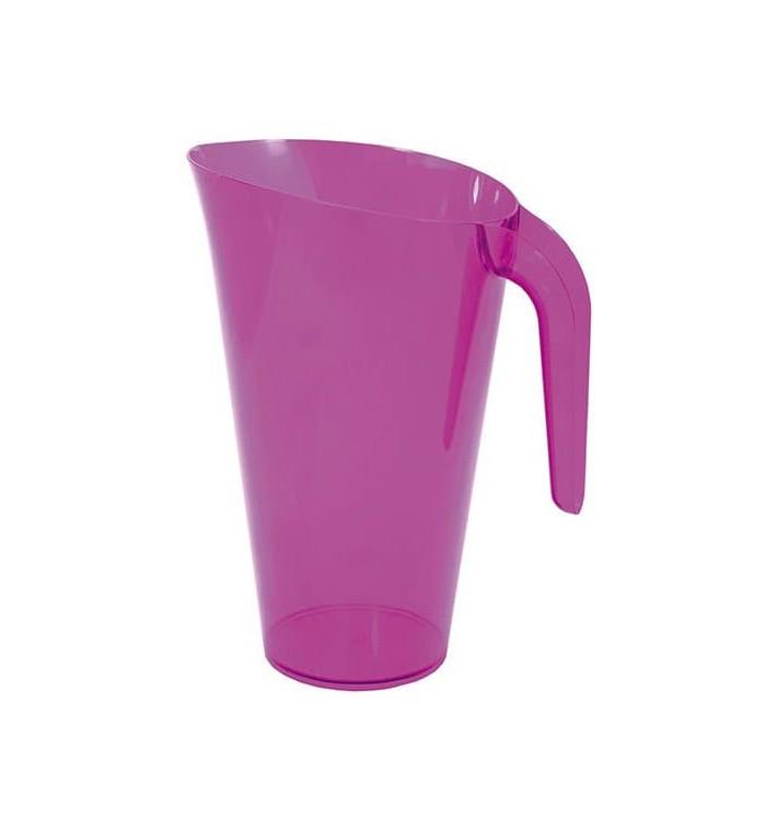 Carafe Plastique Aubergine Réutilisable 1.500 ml (1 Unité)