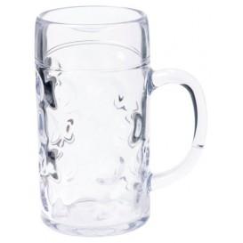 Pichet Plastique pour Bière Transp. Ø77mm 500ml (1 Uté)