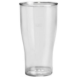 Verre Réutilisable SAN Pour Bière Transp. 350ml (100 Utés)