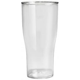 Verre Réutilisable SAN Pour Bière Transp. 400ml (5 Utés)
