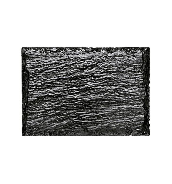 Plateau Ardoise Synthétique Dégustation 130x90 mm (20 Utés)