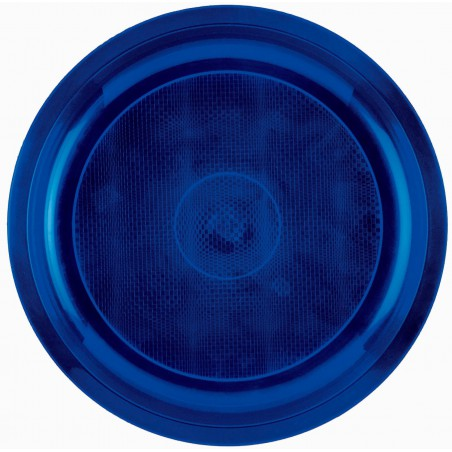 Assiette en Plastique Orange Ø290mm (25 Utés)