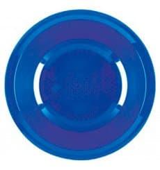 Assiette Plastique Creuse Bleu Mediterranée Round PP Ø195mm (50 Utés)
