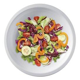 Assiette Plastique Plate Blanc Round PP Ø220mm (300 Utés)