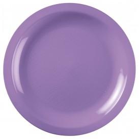 Assiette Plastique Plate Lilas Round PP Ø220mm (50 Utés)