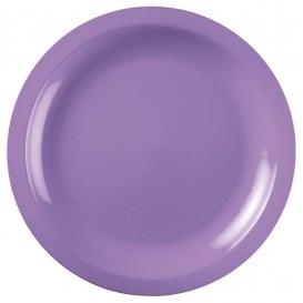 Assiette Plastique Plate Lilas Round PP Ø220mm (600 Utés)