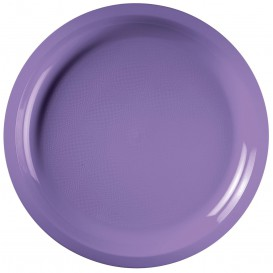 Assiette Plastique Lilas Round PP Ø290mm (25 Utés)