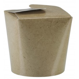 Boîte Repas à emporter Kraft 529ml (50 Utés)