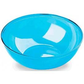 Bol PS Cristal Dur Turquoise 3500ml Ø27cm (20 Utés)
