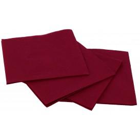 Serviette en Papier Micro Point 20x20cm Bordeaux (2.400 Utés)