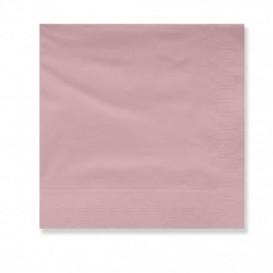 Serviette en Papier Ouate 30x30cm Saumon (4500 Utés)