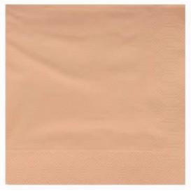 Serviette Papier à Cocktail 40x40cm Crème (50 Utés)
