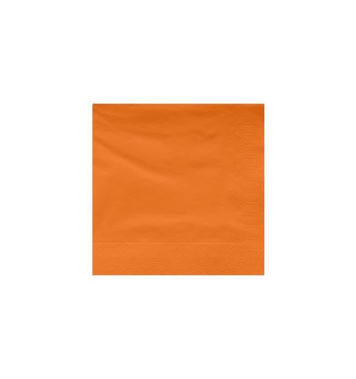 Serviette en Papier Ouate 40x40cm Terracota (2400 Utés)