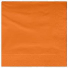 Serviette en Papier Ouate 40x40cm Terracota (50 Utés)