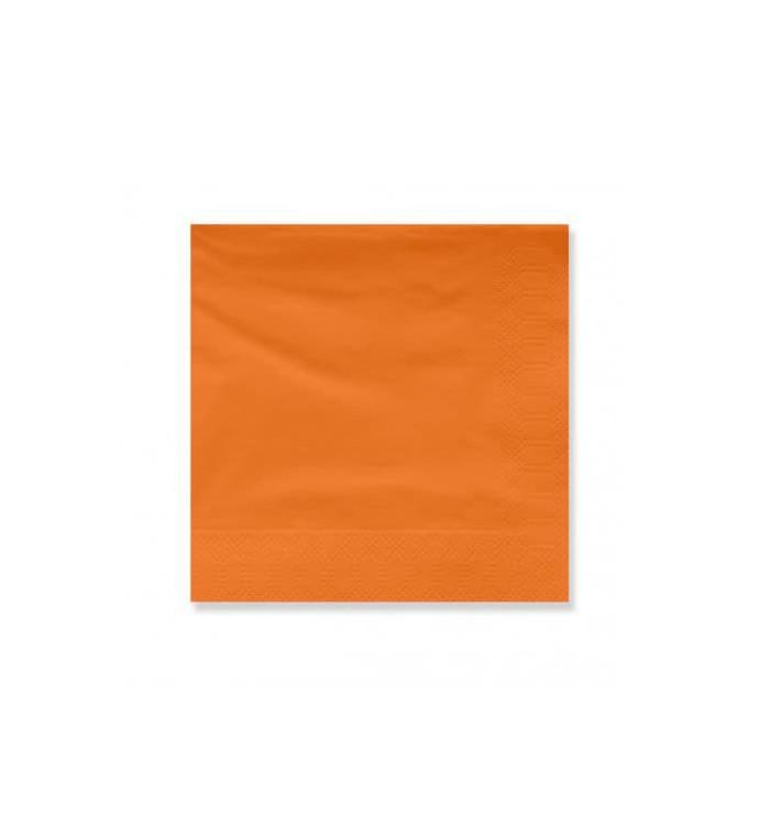 Serviette Papier à Cocktail 20x20cm Terracota (6000 Utés)