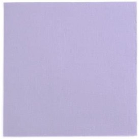 Serviette Papier Double Point 25x25cm Violet (50 Utés)