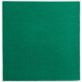 Serviette Papier Double Point 25x25cm Vert (1400 Utés)