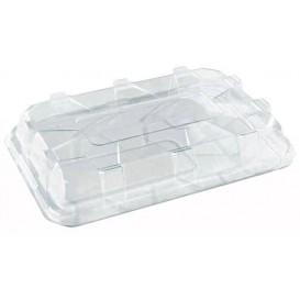 Assiette Vert Eau Transparente en plastique Dur 40x40cm (5 Utés)
