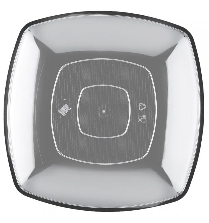 Assiette Plastique Réutilisable Plate Transp. PS 300mm (144 Utés)