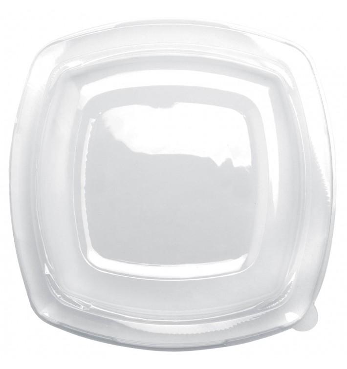 Couvercle Plastique Transp. Square PET pour Assiette 230mm (25 Utés)
