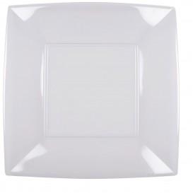 Assiette Plastique Réutilisable Plate Transp. PS 290mm (144 Utés)
