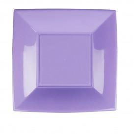 Assiette Plastique Plate Lilas Nice PP 230mm (25 Utés)