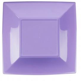 Assiette Plastique Plate Lilas Nice PP 290mm (12 Utés)