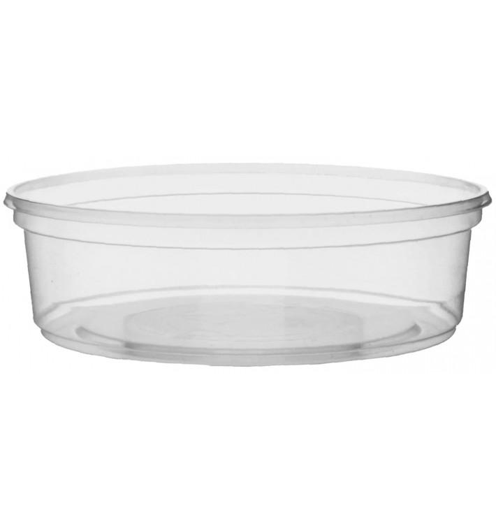 Pot en Plastique Transparent 125ml Ø10,5cm (50 Unités)