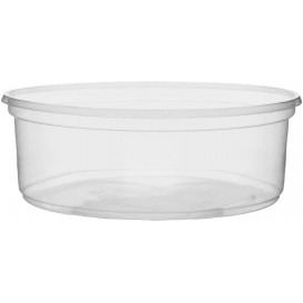 Pot en Plastique Transparent 150ml Ø10,5cm (1.000 Utés)
