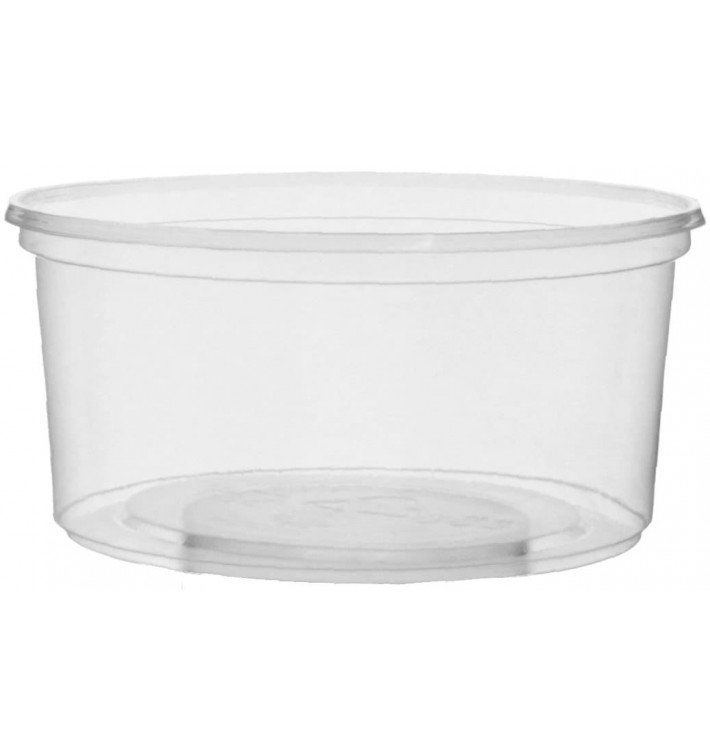 Pot en Plastique Transparent 250ml Ø10,5cm (1.000Utés)